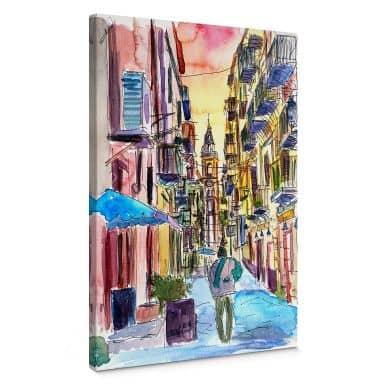 Leinwandbild Bleichner - Fascinating Palermo