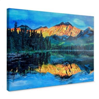 Leinwandbild Bleichner - Kanada - Der Jasper Nationalpark