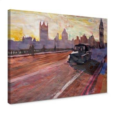 Tableau sur toile - Bleichner - Londres au crépuscule