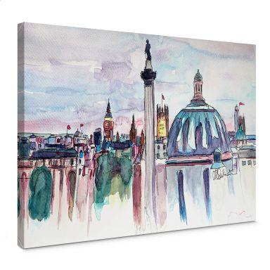 Leinwandbild Bleichner - London Skyline