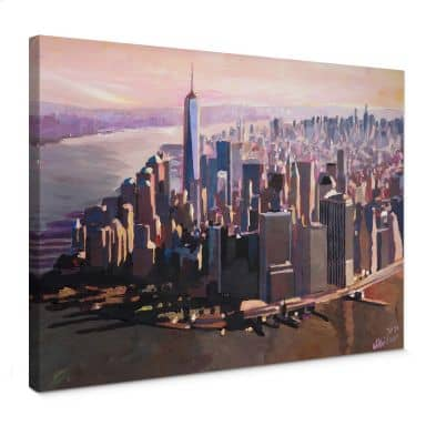Tableau sur toile - Bleichner - Manhattan Freedom