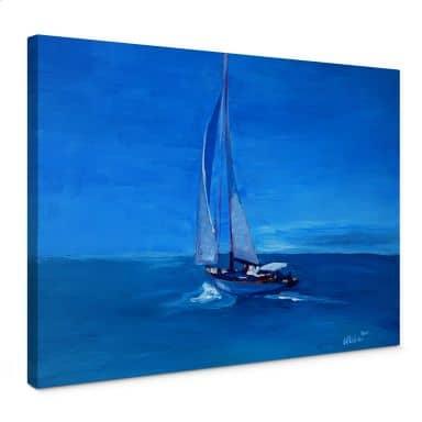 Leinwandbild Bleichner - Sailing into the Blue