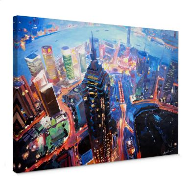 Leinwandbild Bleichner - Shanghai