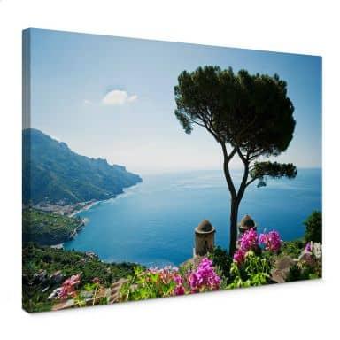 View on the Amalfi Coast Canvas print