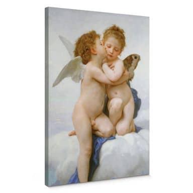 Leinwandbild Bouguereau - Der erste Kuss