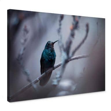Leinwandbild Bravin - Electrical Blue