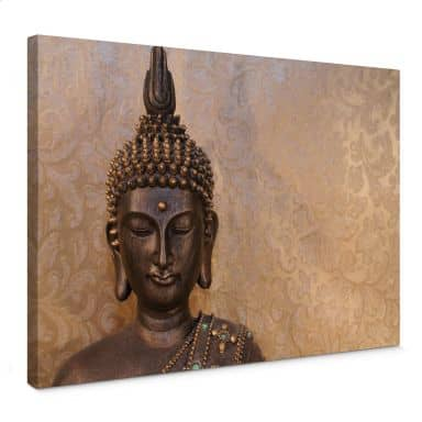 Leinwandbild Buddha der Weise