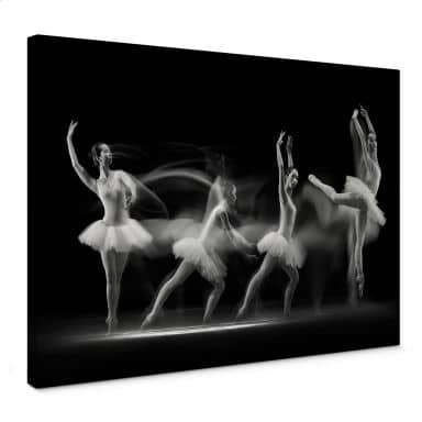 Leinwandbild Bunjamin - Ballett-Performance