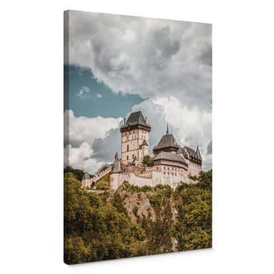 Leinwandbild Burg Karlstein