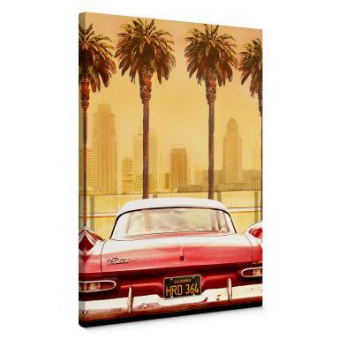 Leinwandbild Butterworth - Oldtimer in Los Angeles