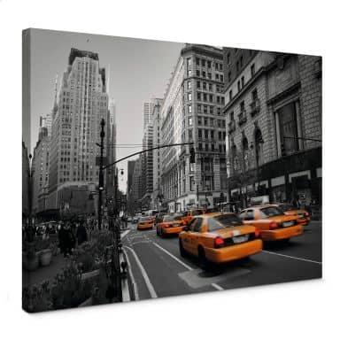 Leinwandbild Cabs in Manhattan
