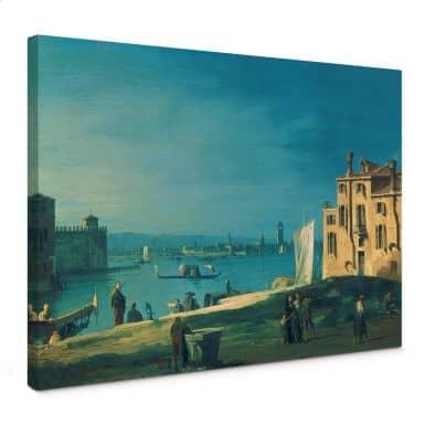 Leinwandbild Canaletto - Blick von San Pietro aufdie Insel Murano