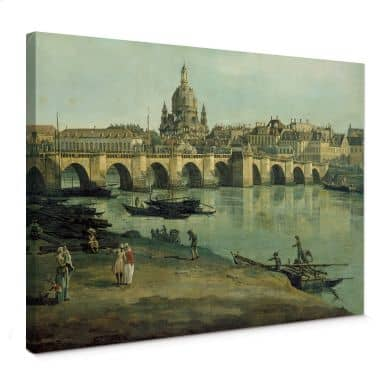 Canaletto - Dresden Canvas print