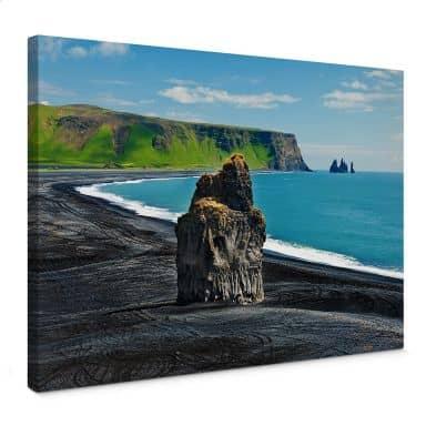 Leinwandbild Cape Dyrholaey