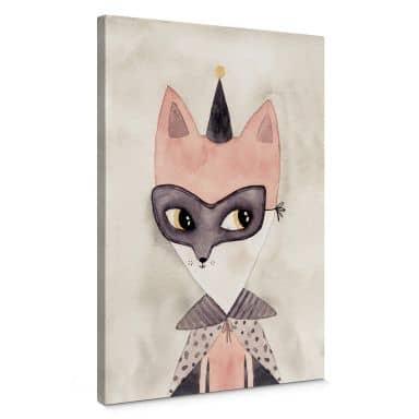 Leinwandbild Carnival Fox