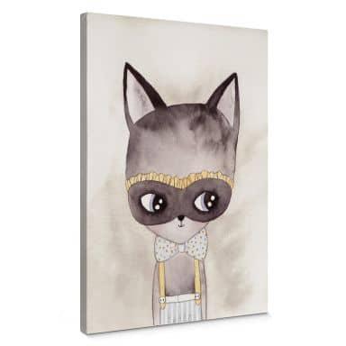 Leinwandbild Carnival Kitty
