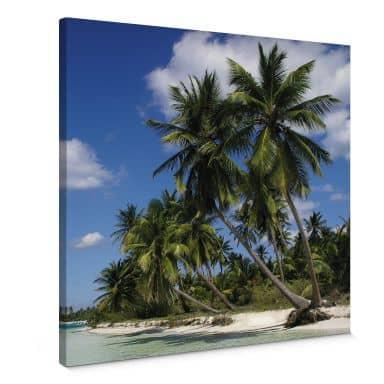 Leinwandbild Carribean Flair - quadratisch