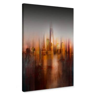 Leinwandbild Chiriaco - New York im Abendlicht