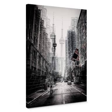 Leinwandbild Chiriaco - Straßen in Toronto