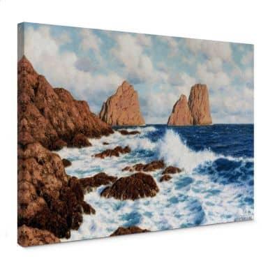 Leinwandbild Choultsé - Die Felsen bei Capri
