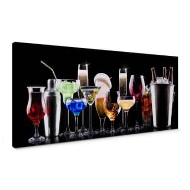 Cocktail Feeling Canvas print panorama
