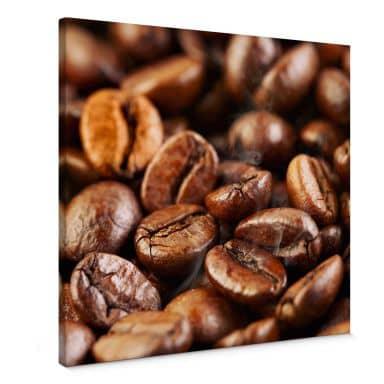 Leinwandbild Coffee 4 - Quadratisch