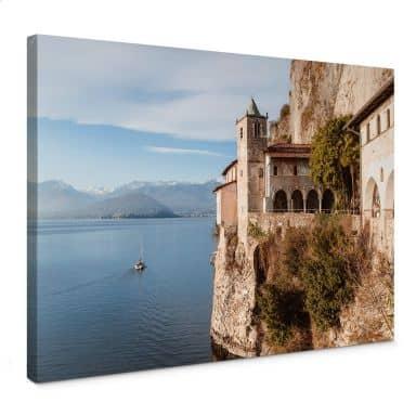 Leinwandbild Colombo - Am Lago Maggiore