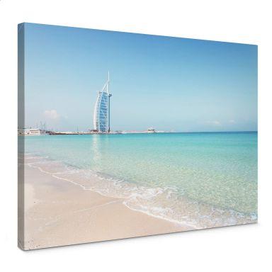 Leinwandbild Colombo – Am Strand von Dubai