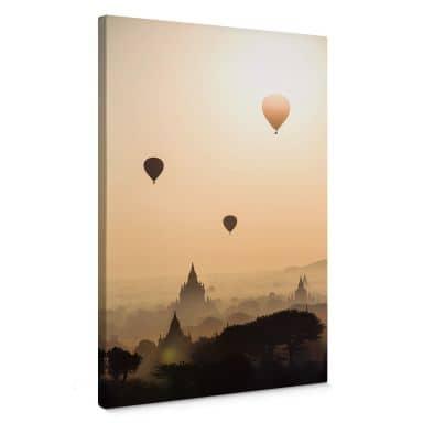 Leinwandbild Colombo - Der Morgen über Bagan