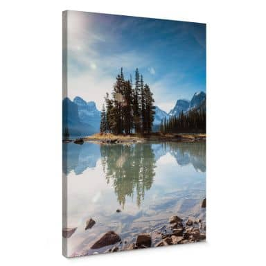 Canvas Colombo - Jasper National Park in Canada
