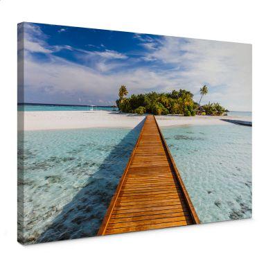 Leinwandbild Colombo - Paradies in der Südsee