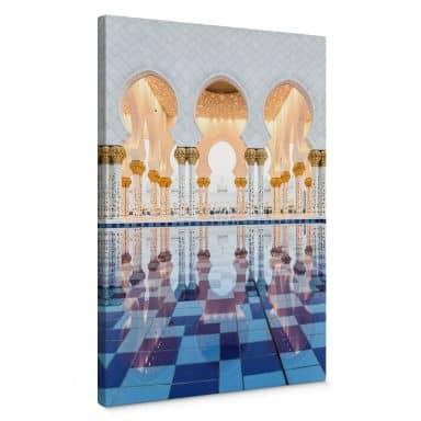 Leinwandbild Colombo - Sheikh Zayed Moschee in Abu Dhabi