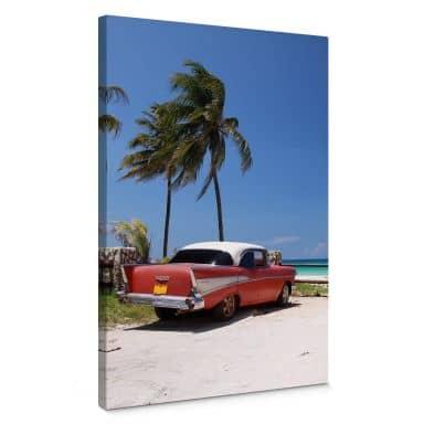 Leinwandbild Cuba Cabrio