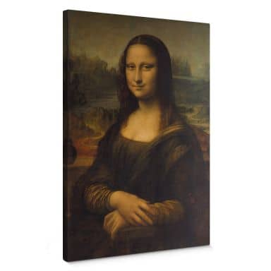 da Vinci - Mona Lisa Canvas print