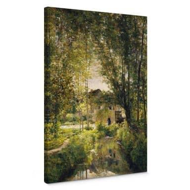 Canvas Print Daubigny - Landscape