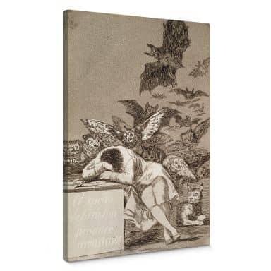 de Goya - The sleep of Reason Canvas print