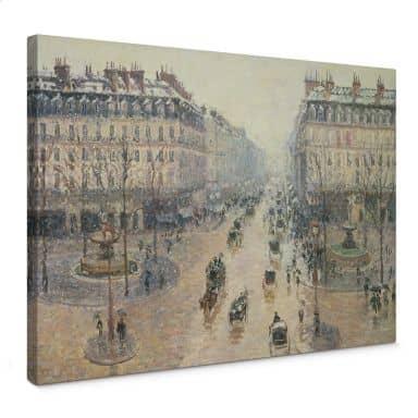 Canvas Camille Pissarro - Avenue
