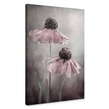 Canvas Print Disher - Flower Duet