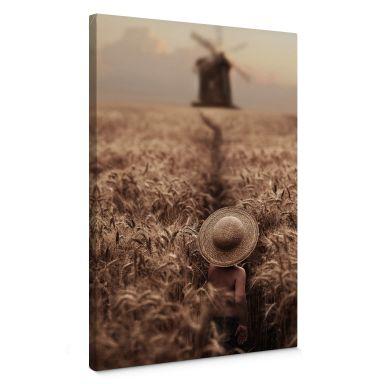 Canvas Print Dubnitskiy - In the Field