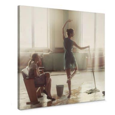 Canvas Print Dubnitskiy - Dancing Lessons