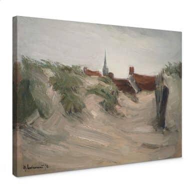 Max Liebermann dunes of Katwijk Canvas print