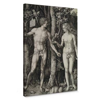 Leinwandbild Dürer - Adam und Eva
