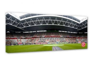 Leinwandbild Fortuna Düsseldorf Stadion Innenaufnahme