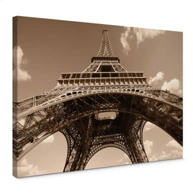 Eiffel Tower Perspective Canvas print