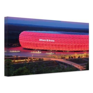 Canvas Print FC Bayern Allianz Arena