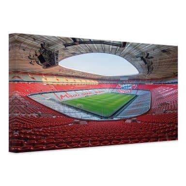 Canvas Print FCB Stadium Mia san Mia