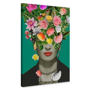 Canvas print Feldmann - Frida Floral