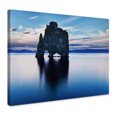 Leinwandbild Felsen im Meer
