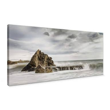 Solid as a Rock Canvas print panorama