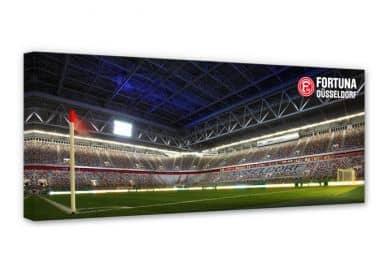 Leinwandbild Fortuna Düsseldorf Stadion Eckfahne